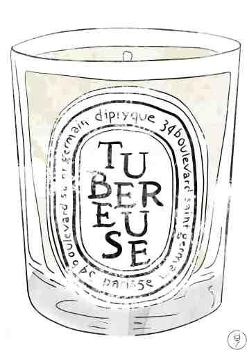 diptyqye tubereuse