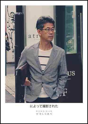 japan boy style old men