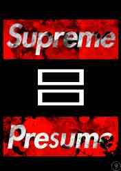 supreme presume