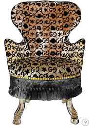 fauteuil gucci