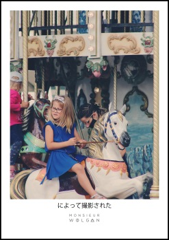 little girl and the horse