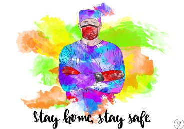 stay safe stay home